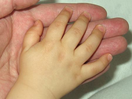 Dziecięca dłoń