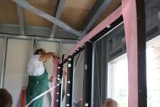 Trójwarstwowe uszczelnienie okien w systemie greenteQ w Domu Zeroenergetycznym GREEN POWER