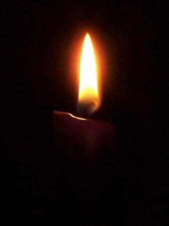 Ogień świeczki