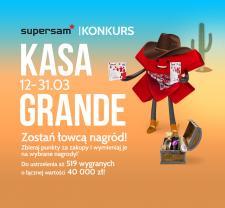 Kasa Grande - w Supersamie przygoda z nagrodami
