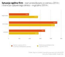Małe firmy: II półrocze 2014 roku gorsze niż się spodziewaliśmy
