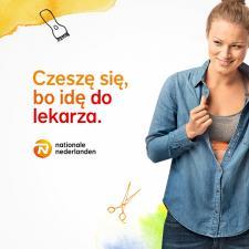 """""""Czeszę się, bo idę do lekarza"""" druga odsłona kampanii Nationale-Nederlanden"""
