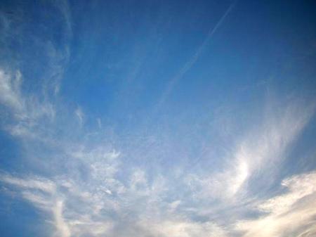 Poszarpane chmury