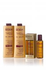 """Linia pielęgnacyjna do włosów ALTA MODA """"ARGAN OIL – Złoto Maroka""""."""