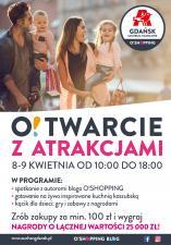 Moc atrakcji z okazji otwarcia Centrum Handlowego Auchan Gdańsk