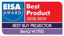 BenQ W1700 4K UHD zdobył tegoroczny tytuł EISA – najlepszy zakup w kategorii projektor 2018-2019