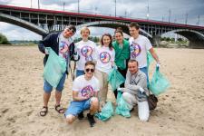 Dołącz do Barefoot Projekt Czysta Plaża i zadbaj  o czystość warszawskiego nadbrzeża
