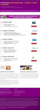 ChwilowkiDlaKazdego24.pl - szybkie chwilówki