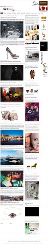 Top10tastes Portal dóbr i usług luksusowych