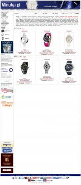 ZEGARKI - Minuta.pl - markowe zegarki dla każdego