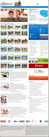 Portal dla budująych www.domowy.pl od projektu po dom