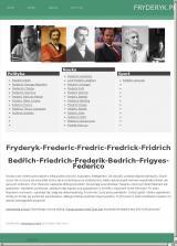 Polityk Fryderyk - nieustanna walka o przyszłość