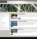 Jas-Met - Konstrukcje stalowe - Cięcie blach