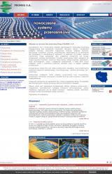 Firma oferująca linie transportowe – taśmociągi