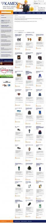 Odzież robocza, obuwie ochronne i inneBHP