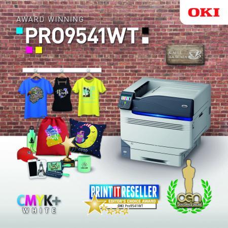 OKI Pro9541Wt