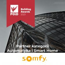 Somfy Polska partnerem konkursu POiD Building Awards 2021